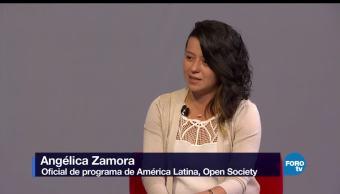 Genaro Lozano, entrevista, Angélica, Zamora, open society, america latina