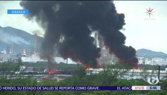 lluvias, tormenta Calvin, derrame de aceites, refinería de Salina Cruz, Oaxaca