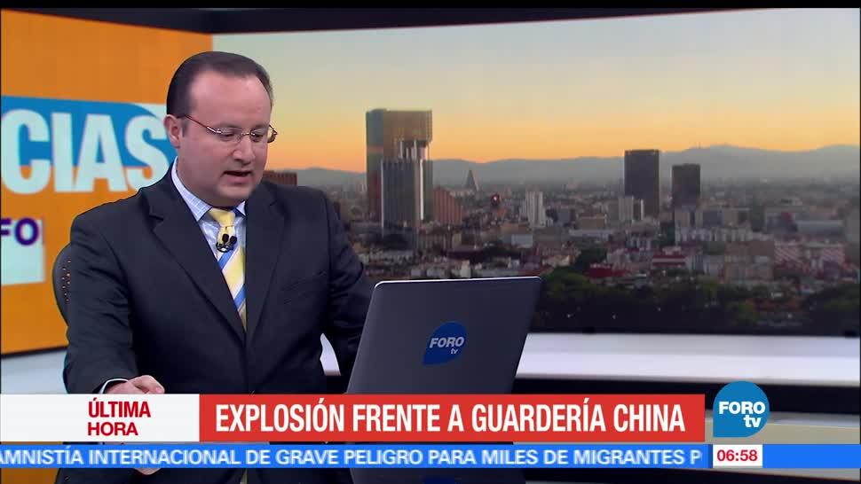explosión, guardería infantil, China, víctimas