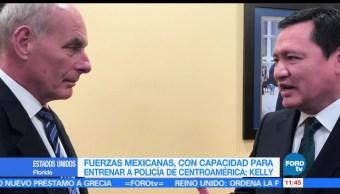 América Central, Miguel Ángel Osorio Chong, John Kelly, secretario de Seguridad, Estados Unidos