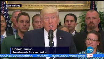 presidente de Estados Unidos, Donald Trump, congresista Republicano, Steve Scalise, tiroteo, Virginia