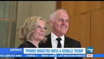 Australia, primer ministro australiano, Malcolm Turnbull, presidente de Estados Unidos, Donald Trump