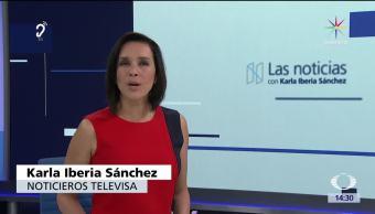 noticias, forotv, Las noticias, con Karla Iberia, Programa, 15 de junio 2017