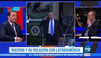 Emmanuel Macron, relación, con, Latinoamérica, economía, política