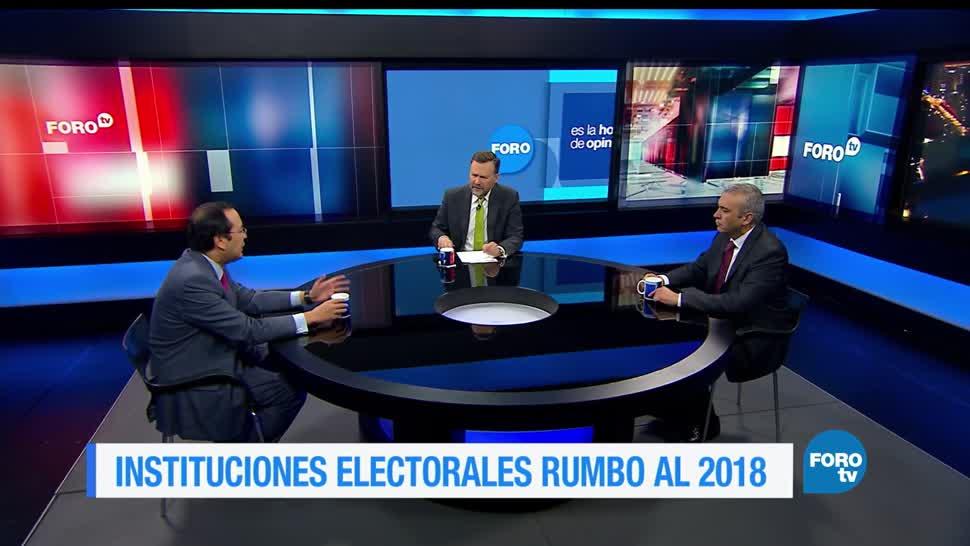 Instituciones, electorales, rumbo, 2018, elecciones presdidenciales, INE