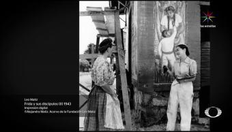 Muralista de la Lente, antiguo, Colegio, San Ildefonso, exposiciones, fotografía
