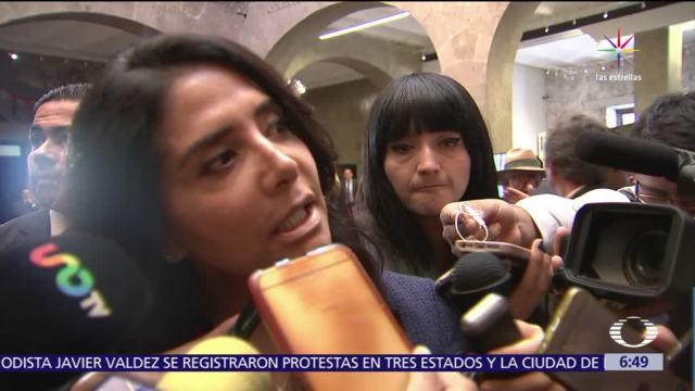 Alejandra Barrales, insiste, crear frente unido, izquierda para 2018