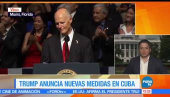 Donald Trump, contra, Cuba, Ariel Moutsatsos