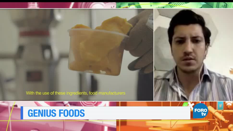 noticias, forotv, Genius Foods, reusar, desperdicios, comida