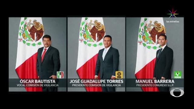 Renuncia, auditor, SLP, escándalo, corrupción, San Luis Potosí