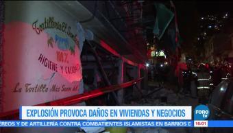 Explosión gas, afecta, casas, negocios, Ciudad de México, Gustiavo a Madero