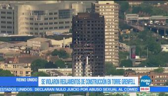 Reino Unido, Torre Grenfell, polietileno, material prohibido, construcciones europeas
