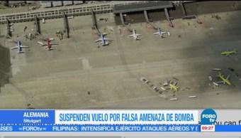vuelos, aeropuerto de Stuttgart, Stuttgart, falsa amenaza, bomba, aerolínea búlgara