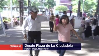 Celebran, Día del Padre, parque de la Ciudadela, CDMX