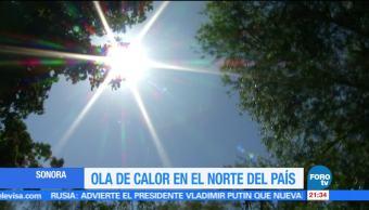 temperaturas, superiores, 45 grados, Sonora, ola de calor, clima
