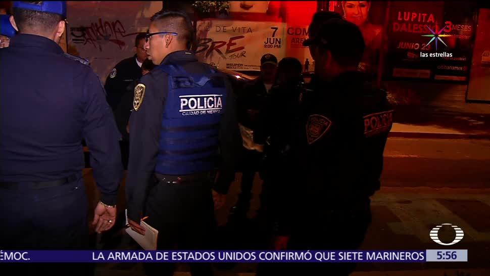 Enfrentamiento, automovilistas, asalto, Tepito, Policía, delegación Cuauhtémoc