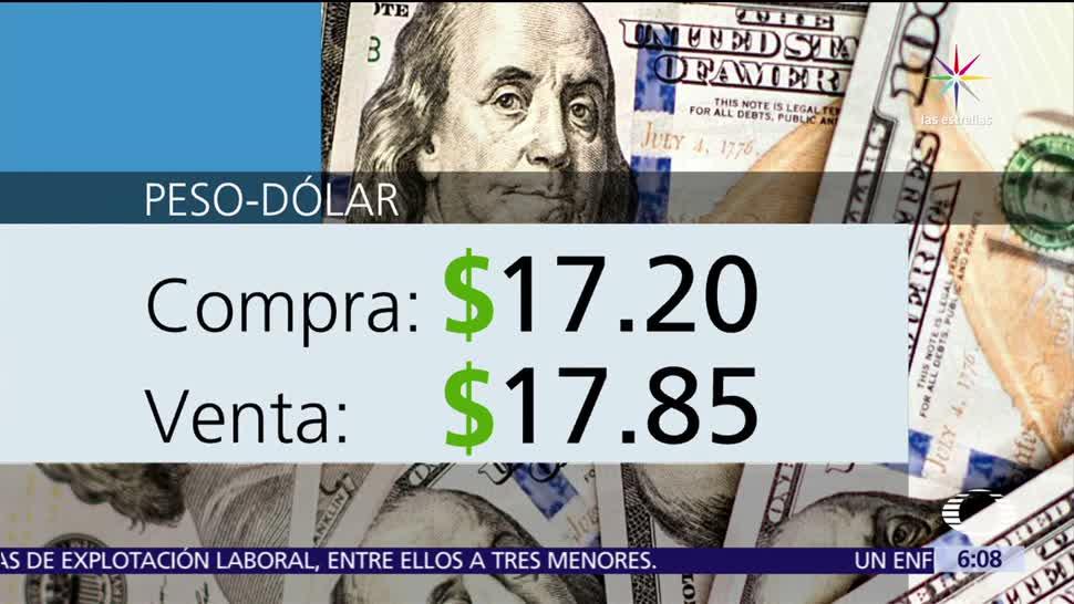 dólar, casas de cambio, Aeropuerto, Ciudad de México, 17.20