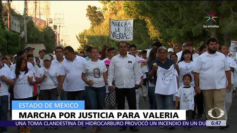 Neza, Valeria, exigir justicia, violación, asesinato