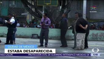 Policías CDMX, cuerpo, cisterna, Iztacalco, desaparecida
