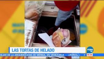 tortas de nieve, helado, Estado de México, redes sociales