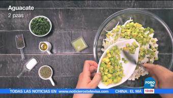chef, Verónica de la Piedra, receta, salpicón de pollo