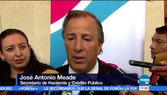 El secretario de Hacienda, José Antonio Meade, Sube precio, gasolina robada