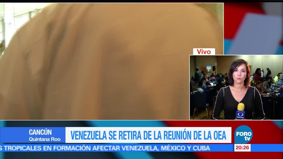 noticias, forotv, Vocera, Estados Unidos, crisis en Venezuela, Lydia Barraza