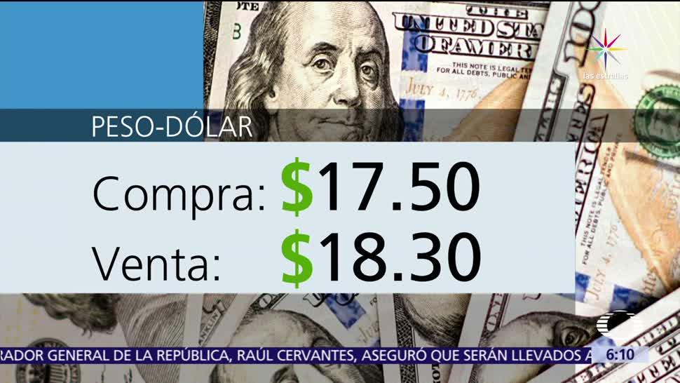 dólar, ventanillas bancarias, Ciudad de México, 17.50