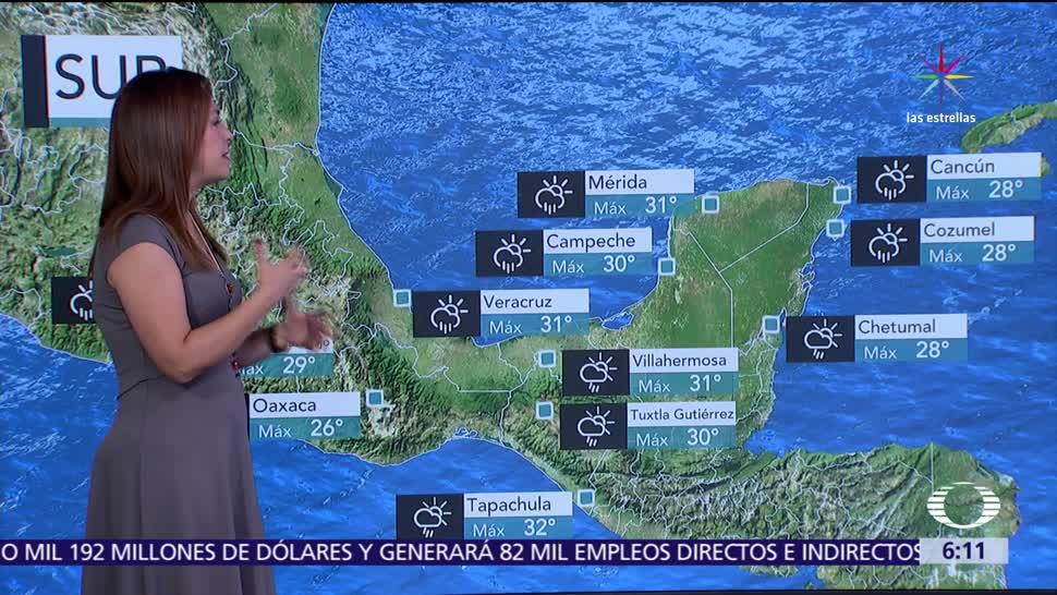 zona de inestabilidad, ciclón tropical, Golfo de México, tormentas, Chiapas, Tabasco