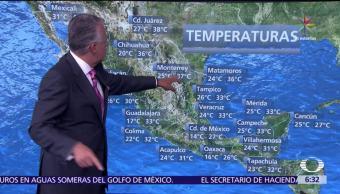 tormentas intensas, Península de Yucatánm verano, hemisferio norte