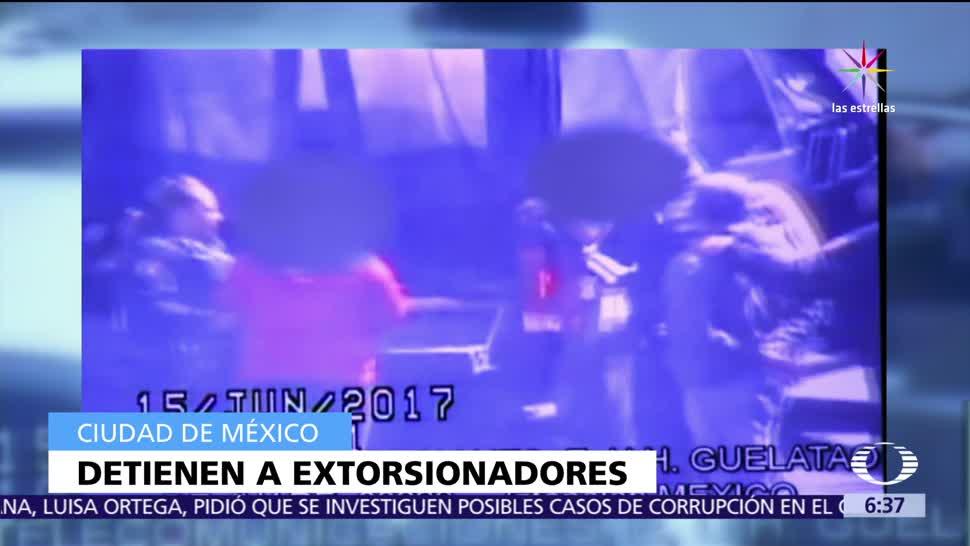 Autoridades, CDMX, 100 mil pesos, extorsión a un comerciante