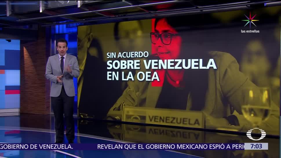 Reunión de cancilleres, crisis en Venezuela, Cancún, Asamblea General, OEA