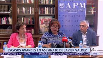 Griselda Triana, esposa de Javier Valdez, México, crímenes contra periodistas