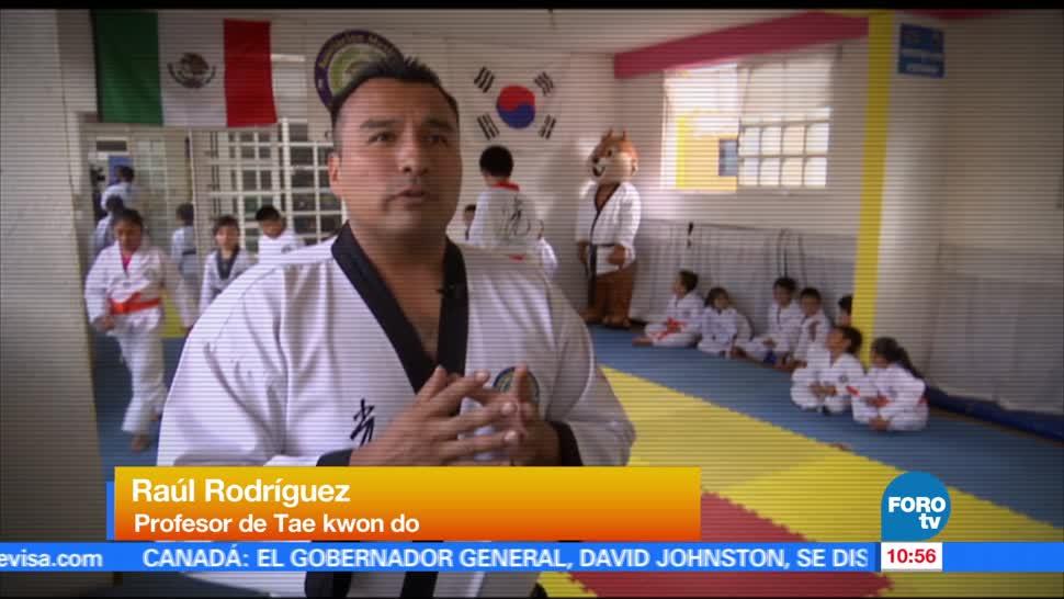 Bryan Mendoza, entrevista, profesor, Tae Kwon Do