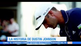 Eduardo Saint Martin, conocer, historia, golfista Dustin Johnson