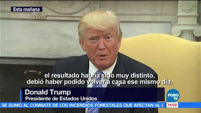 Trump, Otto Warmbier, Lamenta, muerte
