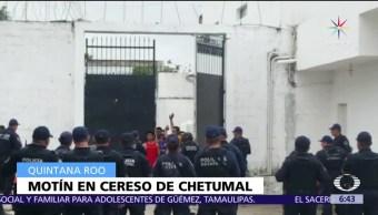 traslado, motín, reos, penal de Chetumal, Quintana Roo