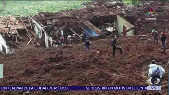 lluvias, Guatemala, departamento de Huehuetenango, once muertos