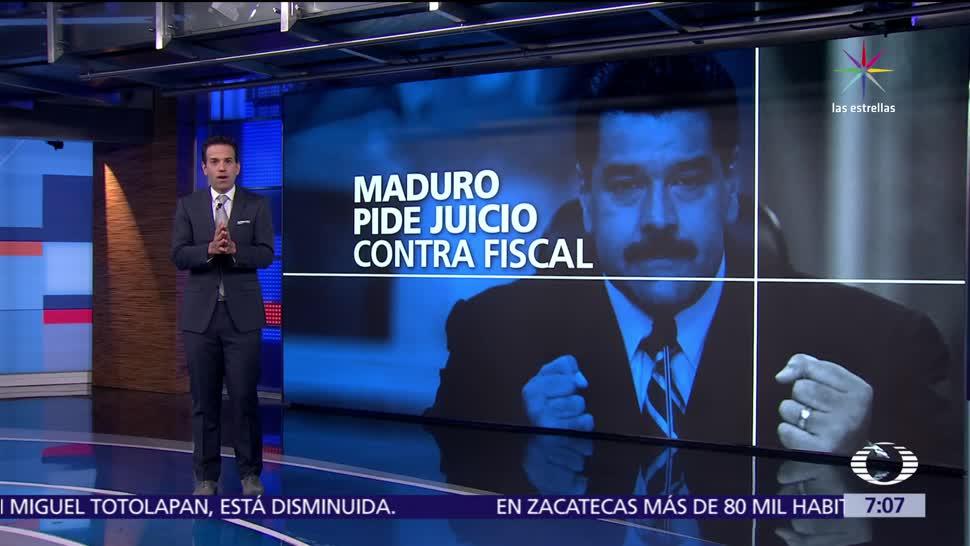 Gobierno de Nicolás Maduro, Nicolás Maduro, fiscal general, Luis Ortega