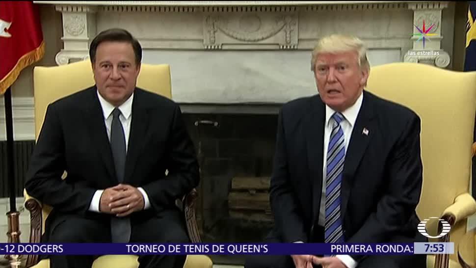 Donald Trump, construcción del canal de Panamá, canal de Panamá, Panamá