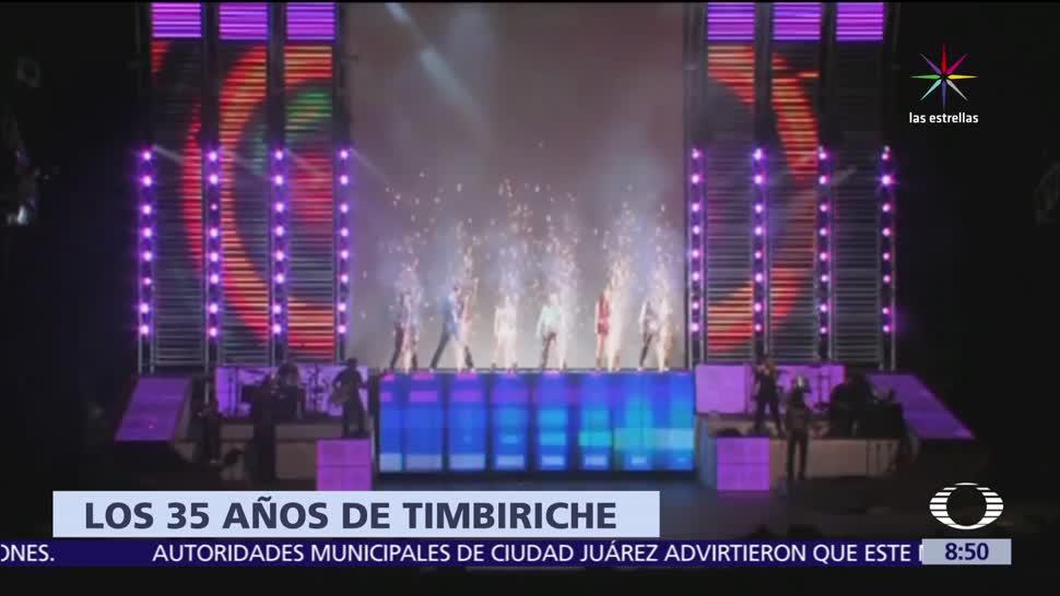 """Timbiriche, gira """"Juntos"""", Auditorio Nacional, septiembre"""