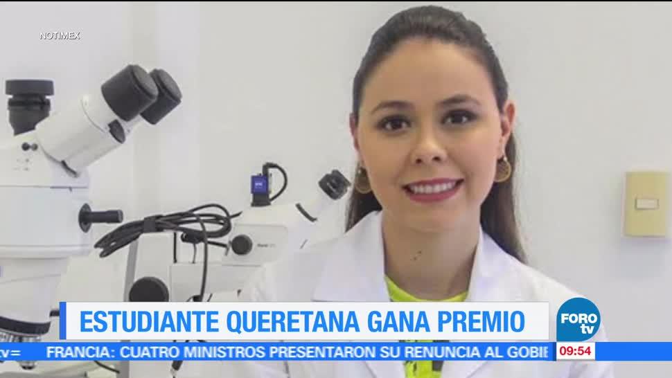 estudiante, Universidad Autónoma, Querétaro, Premio Nacional