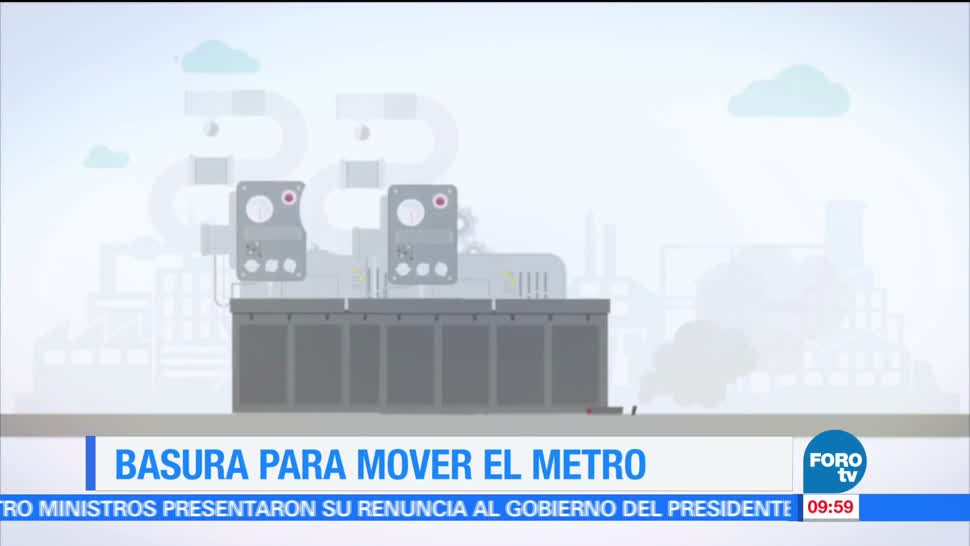 Ximena Cervantes, reportaje, basura, mover el Metro