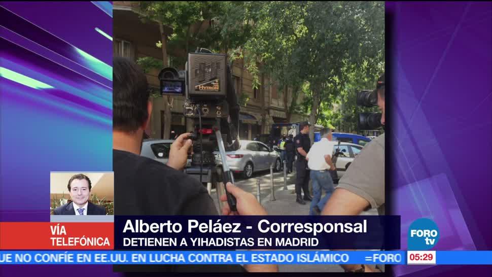 Madrid, España, yihadistas, detienen, 'extremadamente peligroso'
