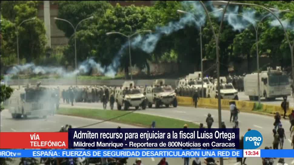 noticias, forotv, Admiten, recurso para enjuiciar, fiscal, Luisa Ortega