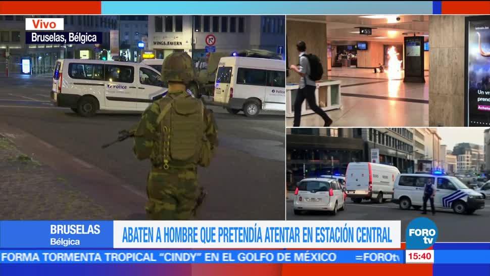 noticias, forotv, Controlan, situación, Bruselas, Bélgica