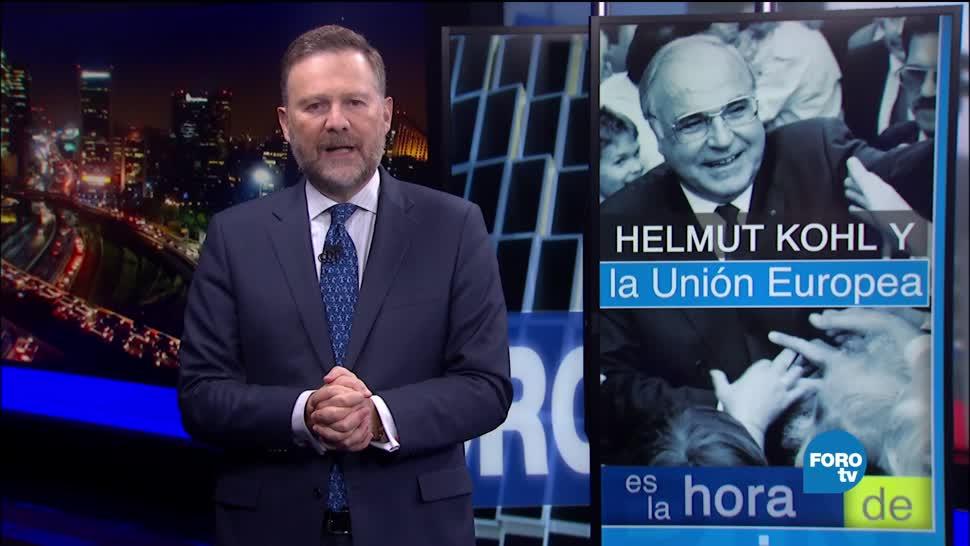 legado, excanciller, alemán, Helmut Kohl, entrevista Leo Zuckermann