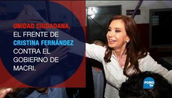 Cristina, Fernández, regresa, política, plataforma, unidad ciudadana