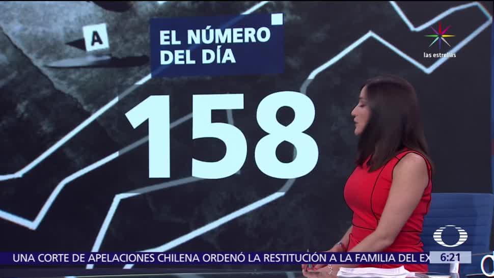 158 mil 440, delitos de alto, alto impacto, México