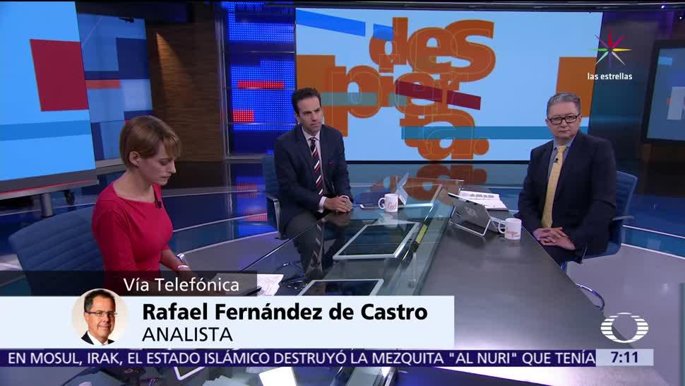 Rafael Fernández de Castro, Asamblea General, OEA, Cancún, crisis en Venezuela